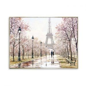 Tablou imprimat pe panza Styler Paris, 115 x 87 cm