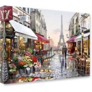 Tablou Styler Canvas Watercolor Paris I, 60 x 80 cm