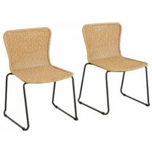 Set 2 scaune Støraa Paprika, bej