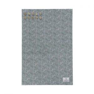 Tabla metalica pentru mesaje A Simple Mess Paule Hedge Green, 40 x 60 cm