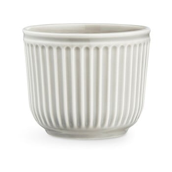 Ghiveci din ceramica Kähler Design Hammershoi Flowerpot, ⌀ 14 cm, gri deschis