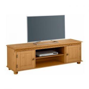 Comoda TV din lemn de pin Støraa Seattle