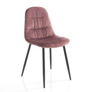 Set 4 scaune Tomasucci Fluffy, roz