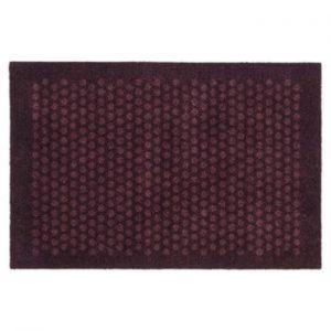 Covoras intrare Tica copenhagen Dot, 60 x 90 cm, grena inchis