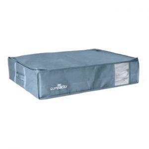 Cutie de depozitare cu vid sub pat Compactor Blue Edition, 145 l