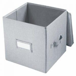 Cutie pentru depozitare iDesign Codi, 32 x 27,9 cm, gri