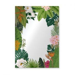 Oglinda Surdic Espejo Decorado Tropical Frame, 50 x 70 cm