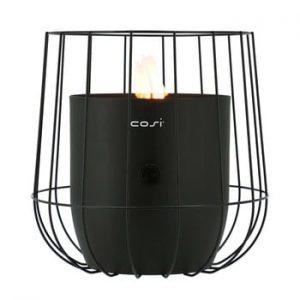 Lampa pe gaz Cosi Basket, inaltime 31 cm, negru