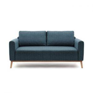 Canapea pentru 3 persoane Vivonita Milton, albastru mineral