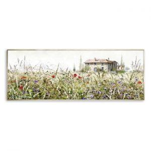 Tablou imprimat pe panza Styler Grasses, 152 x 62 cm