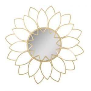 Oglinda de perete Mauro Ferretti Sunflower, ø80cm