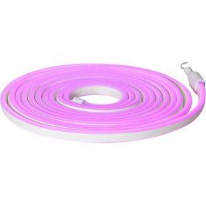Sirag luminos pentru exterior Best Season Rope Light Flatneon, lungime 500 cm, mov