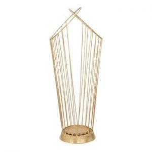 Suport pentru umbrele Mauro Ferretti, inaltime68,5cm, auriu
