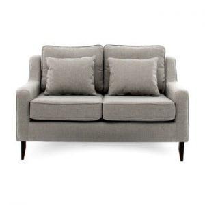 Canapea cu 2 locuri Vivonita Bond, gri