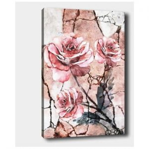 Tablou pe panza Tablo Center Lonely Roses, 40 x 60 cm