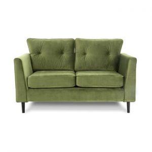Canapea cu 2 locuri VIVONITA Portobello, verde