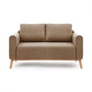 Canapea pentru 2 persoane Vivonita Milton, maro