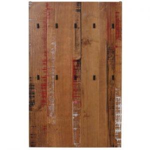 Cuier de perete din lemn masiv de pin Støraa Santana