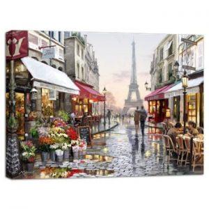 Tablou Styler Canvas Watercolor Paris I, 75 x 100 cm