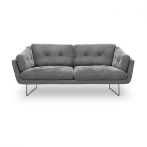 Canapea cu 3 locuri Windsor & Co Sofas Gravity, gri