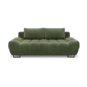 Canapea extensibila cu 3 locuri Windsor & Co Sofas Cumulus, verde