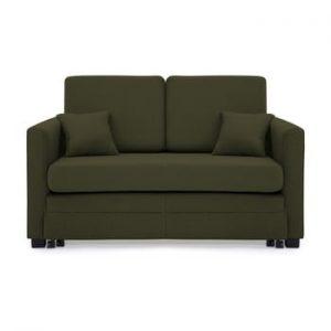 Canapea extensibila, 2 locuri, Vivonita Brent, verde