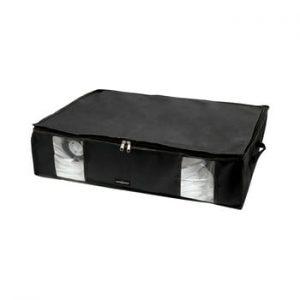 Cutie de depozitare cu vid pentru haine Compactor Black, 145 l