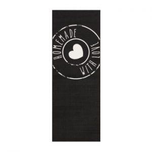 Covor Zala Living Homemade, 67 x 180 cm, negru