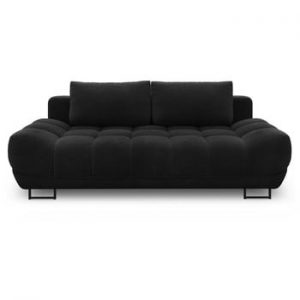 Canapea extensibila cu 3 locuri Windsor & Co Sofas Cumulus, negru