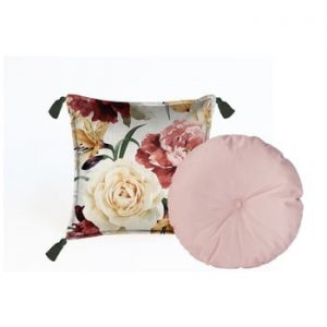 Set 2 perne decorative Velvet Atelier Wendy, 45 x 45 cm