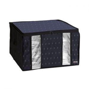 Cutie de depozitare cu vid pentru haine Compactor Kasuri, 125 l, negru