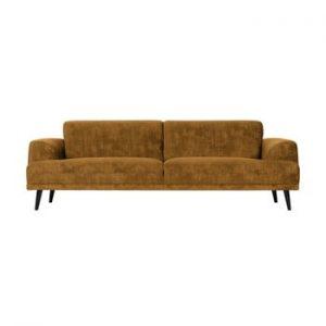 Canapea cu 3 locuri vtwonen Brush, maro