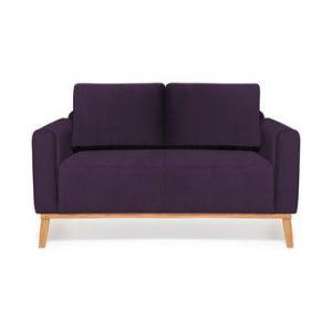 Canapea cu 2 locuri Vivonita Milton Trend, mov