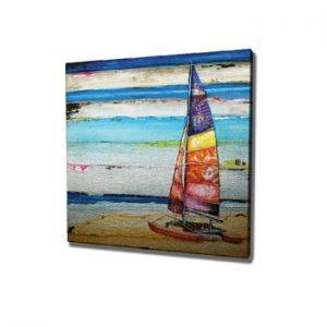 Tablou pe panza Boat, 45 x 45 cm