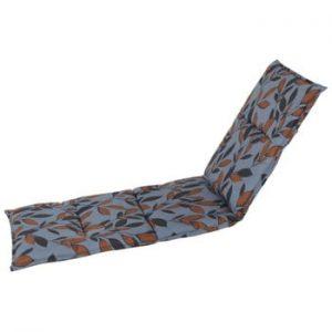 Saltea scaun gradina Hartman Blue Bente, 195 x 63 cm
