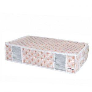 Cutie de depozitare cu vid sub pat Compactor Signature Blush, 145 l