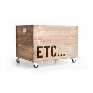 Cutie din lemn cu roti Really Nice Things Etc