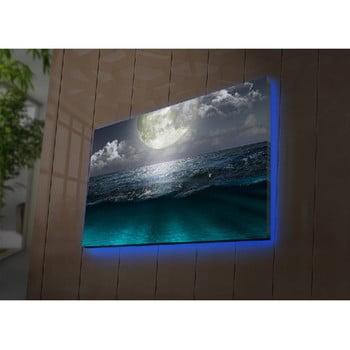 Tablou cu LED-uri Simon, 70 x 45 cm