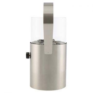 Lampa pe gaz Cosi Original, inaltime 30 cm, argintiu mat