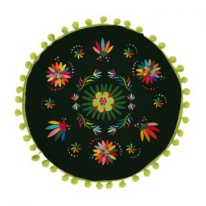 Perna reversibila Madre Selva Ave Otomi Negro, ⌀ 45 cm