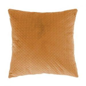 Perna Tiseco Home Studio Textured, 45x45cm, galben inchis