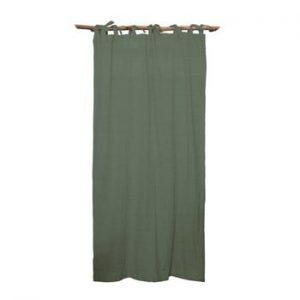 Draperie Linen Cuture Cortina Hogar Green, verde