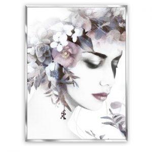 Tablou imprimat pe panza Styler Flower Crown, 62 x 82 cm