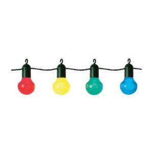 Sirag luminos LED-uri colorate pentru exterior Best Season Party, 20 becuri