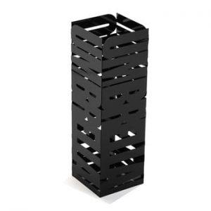 Suport metalic pentru umbrele Versa Unbrella, inaltime 49cm, negru