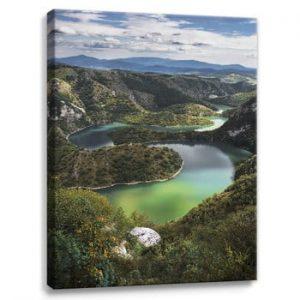 Tablou imprimat pe panza Styler Meanders, 100 x 75 cm