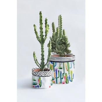 Set 2 ghivece Surdic Watercolor Cactus