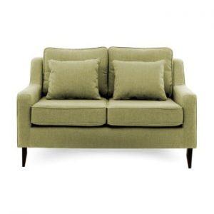 Canapea cu 2 locuri Vivonita Bond, verde