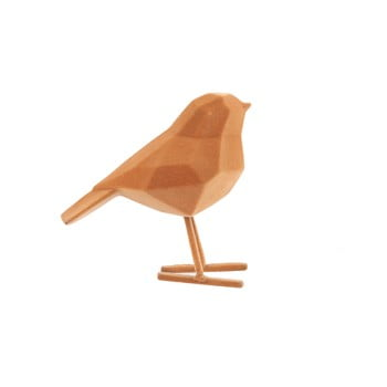 Statueta decorativa PT LIVING Bird, inaltime 17 cm, maro