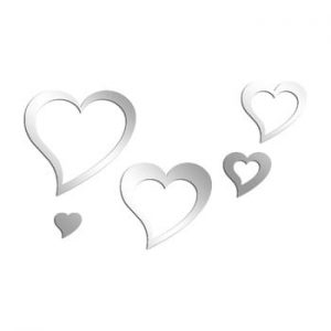 Oglinda decorativa Love You, 75 x 45 cm